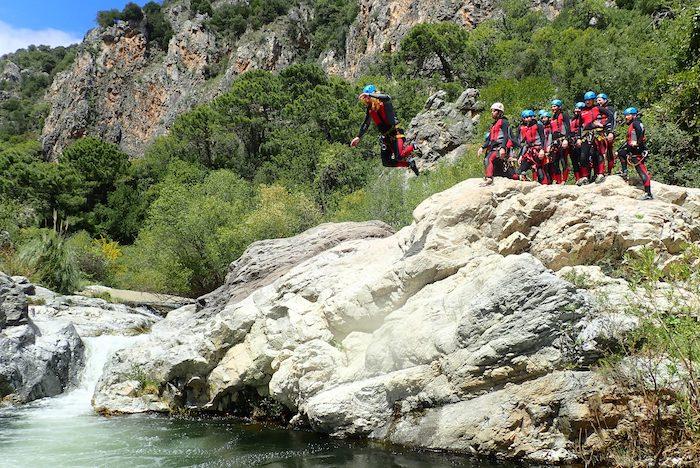 canyoning marbella