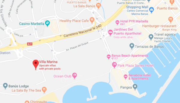 Villa Close To Puerto Banus
