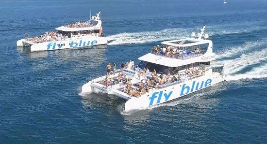 large catamaran hire for big groups Marbella