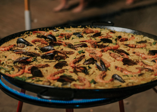 Mobile Paella Party