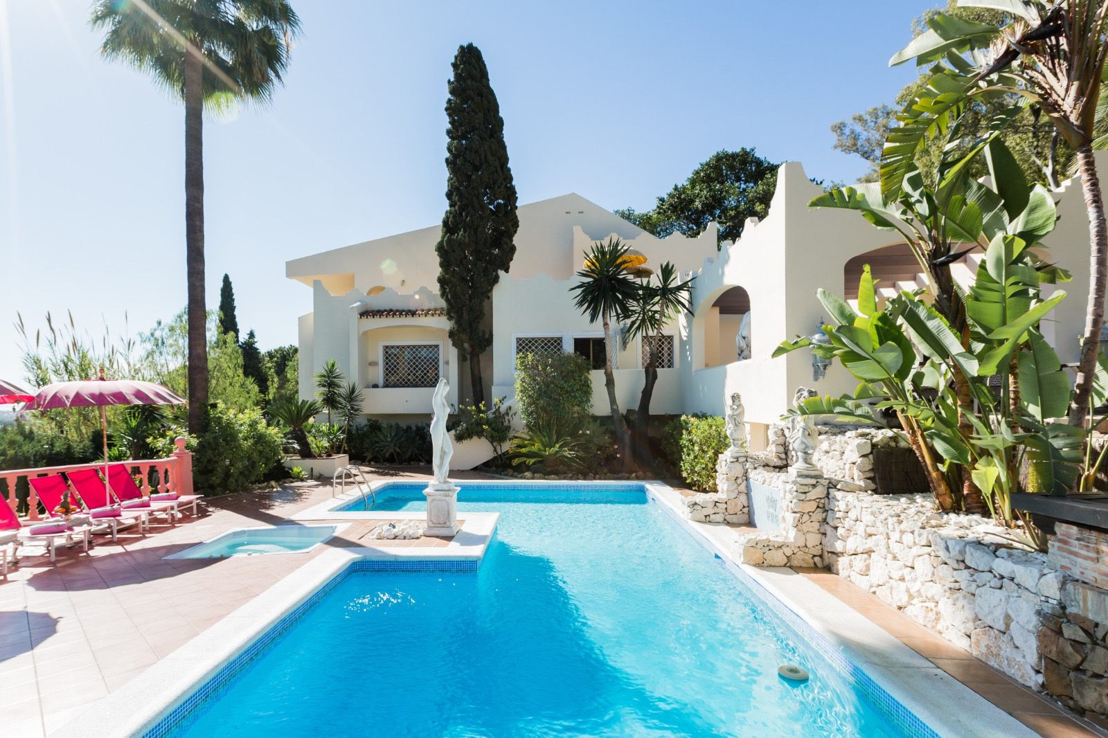 Big Villa For Groups Marbella