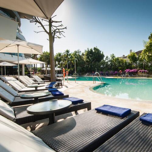 Hen do five star hotel Marbella close to Puerto banus