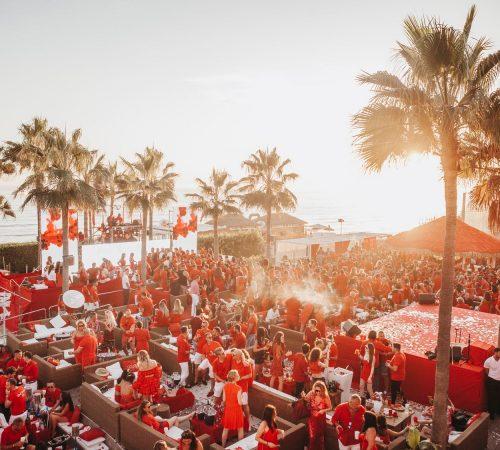 Nikki Beach Red Party 2020
