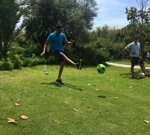 Football Golf